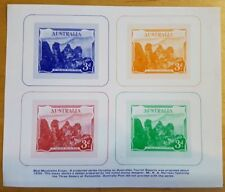 AUSTRALIA STAMPS THREE SISTERS BLUE MOUNTAINS ESSAY IMPERFORATED SHEETLET