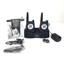 Cobra microTALK FRS 130 Two Way Radio with Charger Handheld VOX Portable