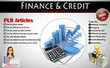 10000+ PLR Articles on Finance and Credit Niche Private Label Rights