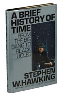 A Brief History of Time ~ STEPHEN HAWKING ~ First US Edition 1988 ~ 1st State