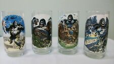 King Kong ~ The Snake ~ 1976 Vintage Drinking Glass ~ Coca-Cola