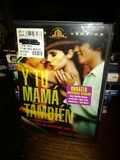 Y Tu Mama Tambien (Dvd, 2002, Unrated Version) Mgm Brand New Sealed