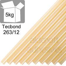 TECBOND 263/12 Hot Melt 12mm, 5Kg Glue sticks for Polypropylene