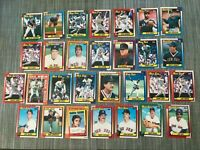1990 BOSTON RED SOX Topps COMPLETE Baseball Team Set 29 Cards BOGGS CLEMENS RICE