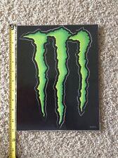 """Monster Energy Logo Sticker Decal Sponsor Sheet Kit 11"""" By 8.5"""" HUGE LARGE"""
