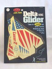 "New Vintage GUILLOW'S Lite Flite Delta Wing Glider ""LASER 2"""