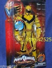 Power Rangers Mystic Force YELLOW Ranger 12 INCH New Factory Sealed Talking