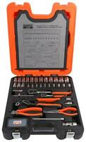 "1/4"" - 1/2"" Socket & Plier Set, 81 Piece - BAHCO"