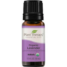 Plant Therapy Organic Lavender Essential Oil 100% Pure, Undiluted, Natural