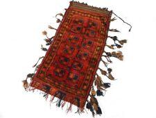 Sac tapis de selle afghan laine nouée Moyen-Orient Turkestan nomades XXème