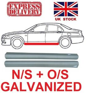 ROVER 75 MG ZT 99-05 SILL REPAIR ROCKER PANEL PAIR GALVANIZED NEW N/S + O/S