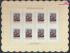 Liechtenstein 1361Klb-1363Klb Kleinbogen postfrisch 2004 Weihnachten (9099837