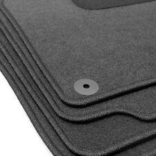 Fußmatten für VW Passat B5 3B/3BG 1996-2005 Qualität Klips Oval Automatten grau