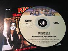 RARE CD Single  Kiss - Rocket Ride / Tomorrow And Tonight  CASABLANCA NM