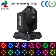 Sin impuestos personalizados 230W 7R Sharp Beam Moving Head Light Almacén madrid
