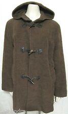 Cinzia Rocca Baby Alpaca Wool Toggle Coat Brown 6 Women S Italy 42 Hoody Jacket