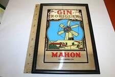 GIN XORIGUER, FONDO ESPEJO, ANTIGUO, 433mm x 334mm, MARCO DE MADERA MET VER FOTO
