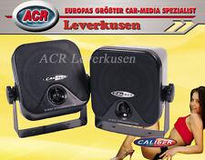 CALIBER CSB3 2-WEGE AUFBAULAUTSPRECHER PKW CAMPING WOHNWAGEN HUTABLAGE AUTO