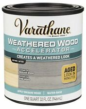 NEW Rust-Oleum 313835 Varathane Weathered Wood Accelerator