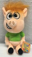 "NEW NWT Hobby Kids TV Hobby Kids Adventures Pocket Watch Hobby Pig 8"" Plush"