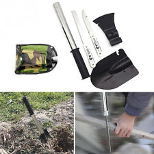 New Survival Emergency Camping Hiking Shovel Axe Saw Gear Kit Tools LE