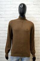 Henry Cotton's Uomo Taglia M Maglione Felpa Sweater Man Cardigan Pullover Cotone