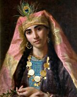 Scheherazade by Sophie Gengembre Anderson. Fine Art Repro choose Canvas or Paper