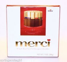 1 Box Merci Candies Finest Assortment Of European Chocolates .7 oz