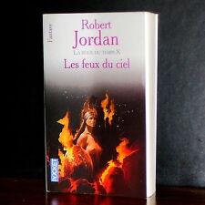 Robert Jordan - La Roue du Temps X - Les feux du ciel / Pocket Fantasy