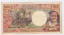 Tahiti - Papeete - 1000 Francs 1977