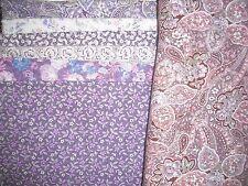 Yellow Brick Road QUILT KIT w/Vintage Purple/Pink Calicos CRIB SIZE