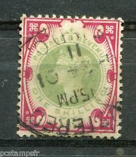 Great Britain, GB, 1887, Stamp Classic 104 Victoria Obliterated, VF Used Stamp