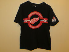 Molson Canadian Detroit Red wings Stanley Cup 2008 T shirt Size Large