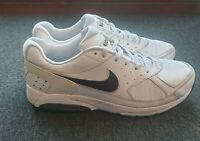 Nike Air Max Leather White Trainers Swoosh Men's UK Size 10 US 11 EU 45