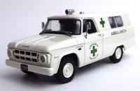 Dodge D-100 1967 Ambulance Argentina Rare Diecast Scale 1:43 New Sealed+Magazine