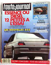 L'AUTO-JOURNAL du 3/1990; Essai diesel ou essence, 12 petites à l'essai