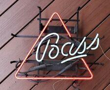 "Bass Ale Beer Neon Light Sign 18""x16"" Glass Decor Lamp Windows Display. x1509"