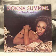 DONNA SUMMER - I REMEMBER YESTERDAY LP EX-/EX+ 1977 ITALY CASABLANCA CALP 5001