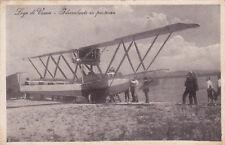 * LAGO DI VARESE - Idrovolante in partenza 1926