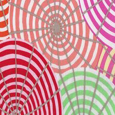 "Kaffe Fassett Laminate Fabric Parasols Umbrellas in Cream OCGP005 54/56"""