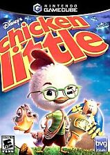 Disney's Chicken Little Nintendo GameCube VIDEO GAME case and Manual