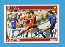 Figurina/CARD-SCORE '92-n.221- RIZZITELLI - ROMA