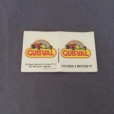 158F Mini Catálogo Juguetes Guisval 1977 Super Campeon 40 Páginas 3,7 X 4,3 cm