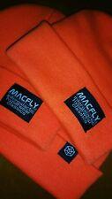 MACFLY~Cuffed Beanie~Orange/Black/Off White