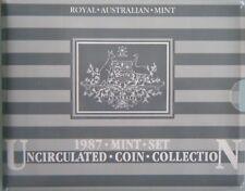 1987 Australia Uncirculated UNC Coin Set - Royal Australian Mint