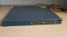 Cisco Catalyst WS-C3560E-24PD-S Switch 24x 1Gb 750W PoE tested and reset