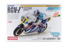 Kyosho 34931 1/8 Scale EP RC Bike Motorcycle Hanging On Racer Kit SUZUKI RGV-Γ