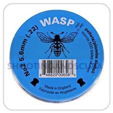 Bisley Wasp Blue .22 (5.6mm) ~Tin of 500 pellets for Air Gun Rifle Pistol