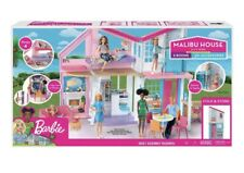 New ListingBarbie Fxg57 Malibu 2 Story 6 Room Townhouse Playset with Over 25 Accessories