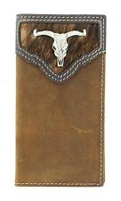 Nocona Western Youth Wallet Rodeo Longhorn Skull Saddle N5437644